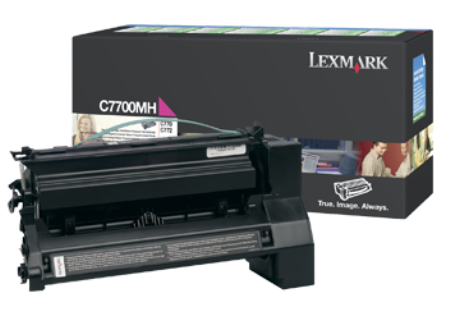 Картридж Lexmark C7700MH (Return Program)