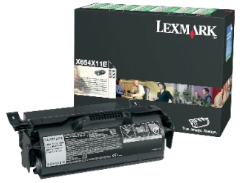 Картридж Lexmark X654X11E (Return Program)