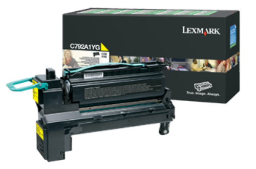 Картридж Lexmark C792A1YG (Return Program)