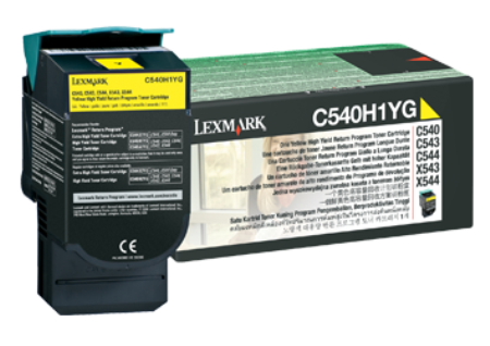 Картридж Lexmark C540H1YG (Return Program)
