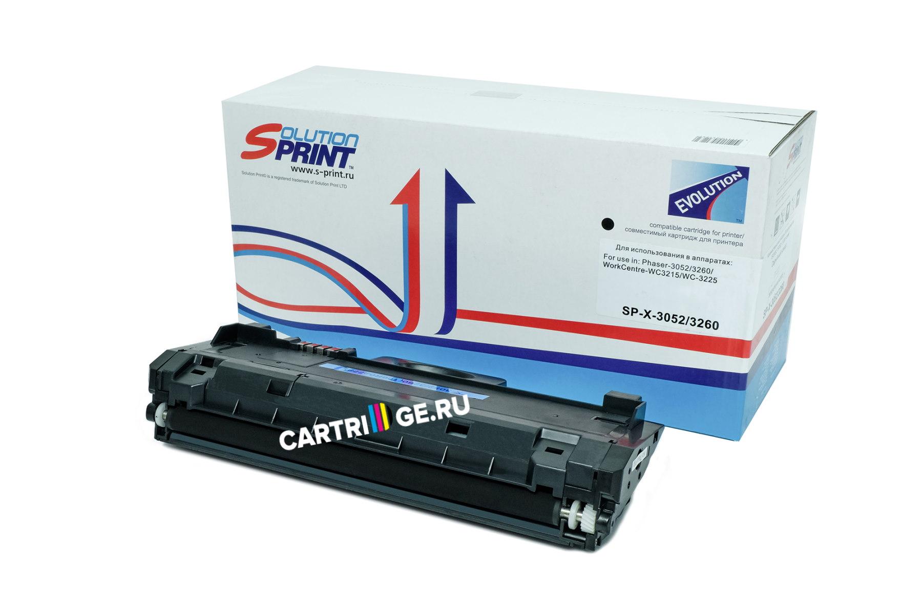 Картридж Sprint SP-X-3052/ 3260 для Xerox купить | Cartrige.ru