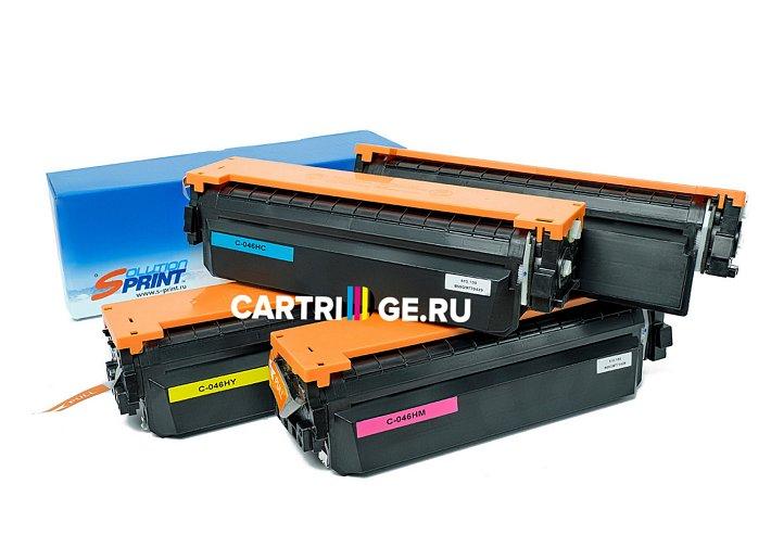 Комплект картриджей Sprint SP-C-046HBk/ C-046HC/ C-046HM/ C-046HY для Canon совместимый для Canon совместимый струйный купить | Cartrige.ru